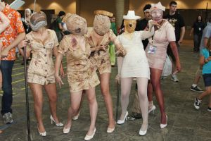 Silent Hill Nurses 2 by MadcatDrannon