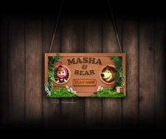 Intro for game Masha and Bear by AndexDesign