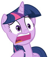 Twilight Sparkle - WHAT? by JoeMasterPencil