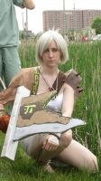 Riven in the grass by ElectricVISUALS