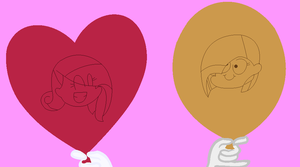 Angelus and nightmare yami ballons xD by darknes2012