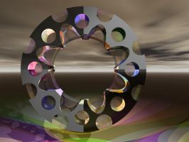 Holey Loops + Lights 1 by Whazizname