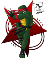 Raphael Is Cool But Rude by CyborgBeefJerky