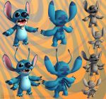 Stitch by polyphobia3d