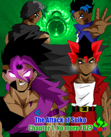 The Attack of Suiko Title page by Ryku08