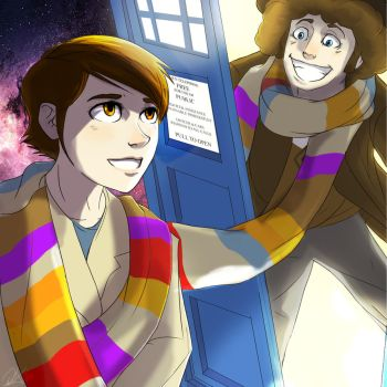 Doctor Who - My Moms mothers day present (2013) by WolfSplicer