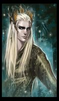 Thranduil Merry Christmas by OrenMiller
