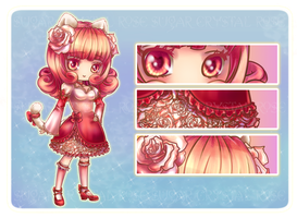 Adopt-: Crystal Sugar Rose [Closed] by furesiya