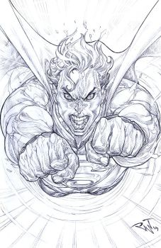 Flying Rage from Krypton by pant