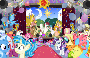 Brony Thank You Fund Print by PixelKitties