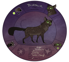 TDE | Duskstorm | Deputy of ShadowClan. by Acerbiic