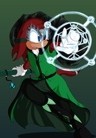 Sojourner the Arcane Mage by oreana