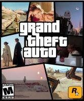 Grand Theft Auto Star Wars cover:Tatooine by TheSyFyFan