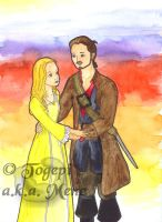 PotC - Elisabeth and Will by mene