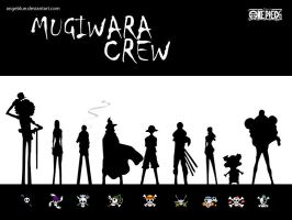 ..mugiwara crew.. by angeblue