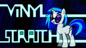 Vinyl Scratch wallpaper by bdiddy20128