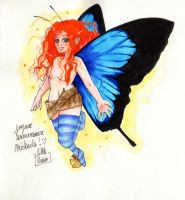 Red head fairy by Little-Roisin