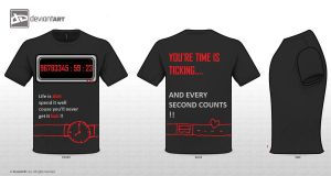 YOU'RE LIFE IS TICKING...T-shirt by SunnyFire