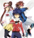 Pkmn BW2- Of Players and Rival by meru-chan