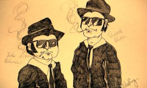 The Blues Brothers by xxscrumxx