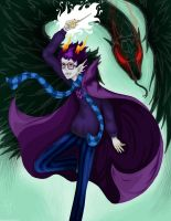 Eridan: Fight Angels - Homestuck FA by GingerSnake