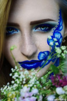 Blue flowers. by LicamtaPictures