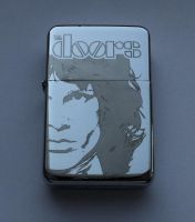 THE DOORS - engraved lighter by Piciuu