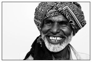 Portrait of a Rural Musician by Indiangal