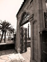 Hala Sultan Tekke Entrance by alimuse