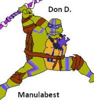 tmnt definitive don by Manulabest