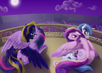 Commission:  Kindred Spirits by SilFoe