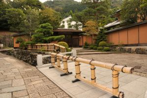 Nikko Home and Bamboo Fence by AndySerrano