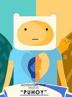 Adventure Time Puhoy Poster by CravingSquidBlood