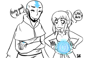 ATLA/LOK : Teaching by shiriomi