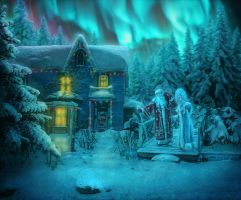 Welcome home, Grandfather Frost!.. by IvannaDark