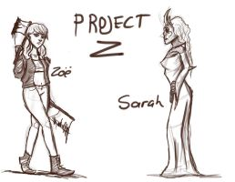 Project Z Character Design by Artistic-Doll