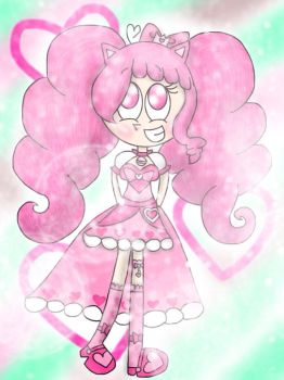 (REQUEST) Think Pink [PreCure OC] by the01angel
