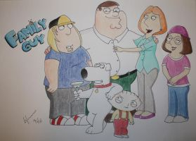 Lucky There's A Family Guy by Ferrari94