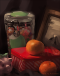 Christmas Still Life by Hirukio