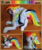 20 percent cooler plushie by Phoeline
