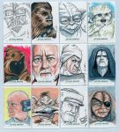 Topps Star Wars Chrome Perspectives Sketch Cards 1 by DarklighterDigital