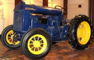 fordson tractor by peaceocake