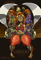 Hyrule's Most Heinous - Gerudo Tribe by BrendanCorris