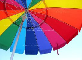 Colorful Umbrella by Lady-Kelaria