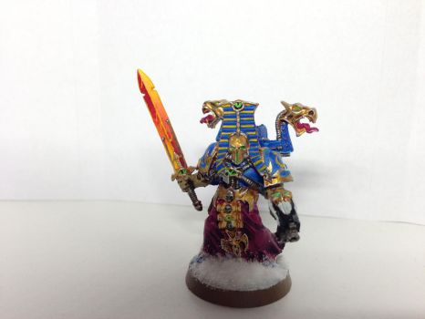 Thousand Sons Aspiring Sorcerer by Darth-Solidus