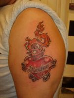 Sacred Heart by GetSomeInk