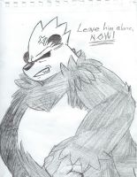 Protective Gordon is Protective (SKETCH) by LonelyWerewolf123