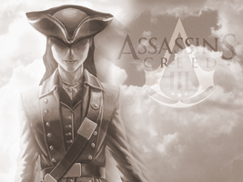Red Coat AC3 Wallpaper by Castianne