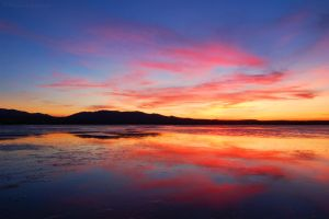 Fire Over The Lagoon by MaximeDaviron