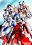 Command Mission X Zero and Axl by Soul-Rokkuman